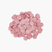 "Глазур кондитерська кольорова - Рожева (йогурт полуничний) ШК ""Світ"" - 0,5 кг"