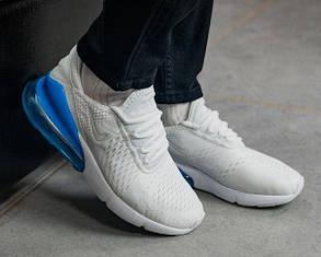 Модные мужские кроссовки Nike Air Max 270, два цвета 41, Белый