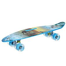 Скейтборд круизер SK-885-5 (синий), фото 3