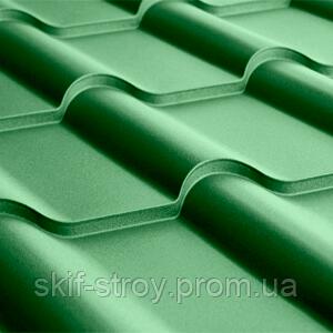 Металлочерепица Афина 0,45мм матовый  полиэстр US Steel Kosice Словакия
