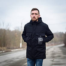 Чоловіча демісезонна куртка Y.L.Z, чорноного кольору