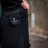 Чоловіча демісезонна куртка Y.L.Z, чорноного кольору, фото 8