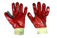 Перчатки БМС красные 1 сорт