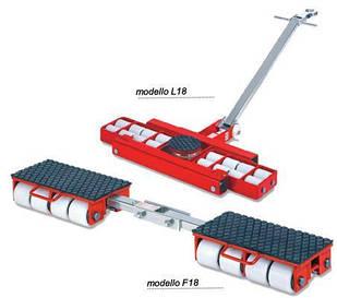 Комплект обладнання для переміщення котлів і великогабаритних ємностей F18, L18 GKS-Perfekt