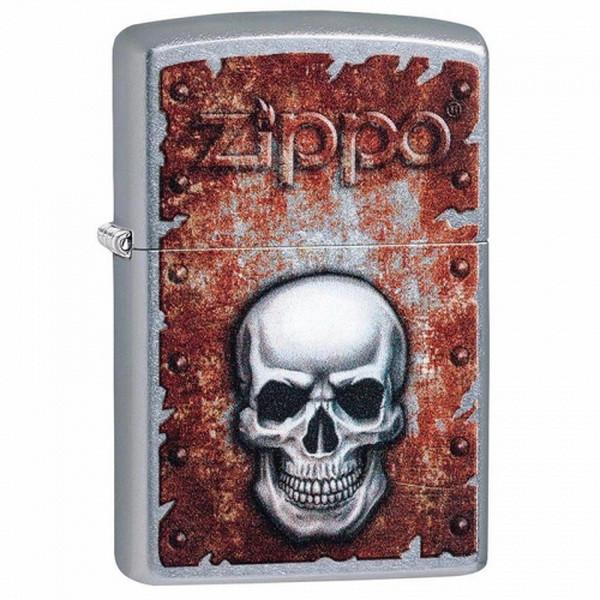 Зажигалка Zippo Rusted Skull Design, 29870