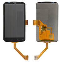 Дисплейный модуль (дисплей + сенсор) для HTC Desire S S510e G12 (широкий шлейф), оригинал