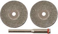 Диски алмазные отрезные D мм 40, метал, плитка FIT