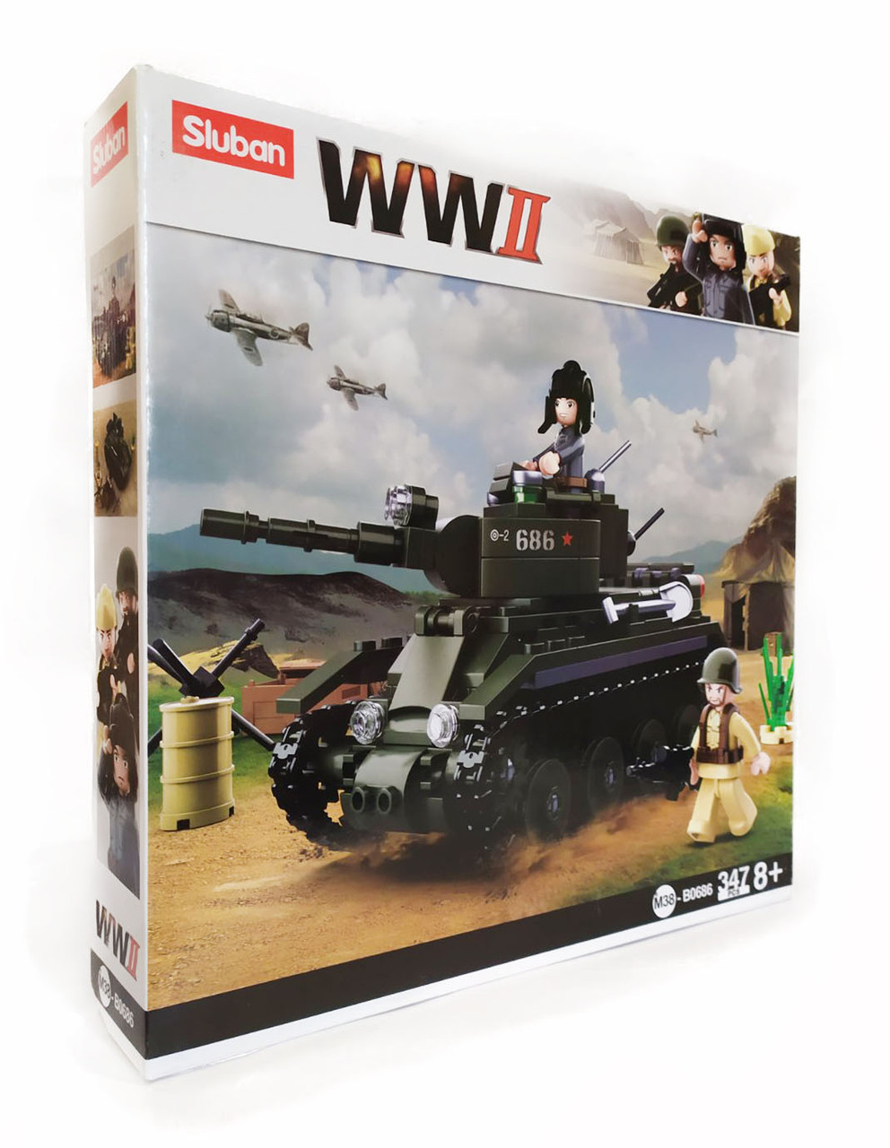 Конструктор sluban WW2 M38-B0686-1