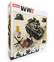 Конструктор sluban WW2 M38-B0686-1, фото 2