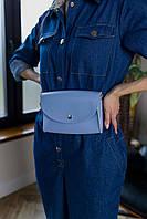 Поясная сумка голубого цвета Udler, фото 1