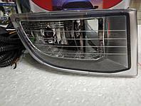 Противотуманные фары (комплект) Toyota Cruiser / Prado 120 2003г c электропроводами и кнопкой DLAA