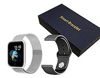 Фитнес браслет Smart Watch AIR Серый, фото 1