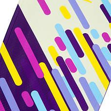 Скейтборд пластиковый Penny SK-881-11 с рисунком 56х15см, фиолетовый, фото 2