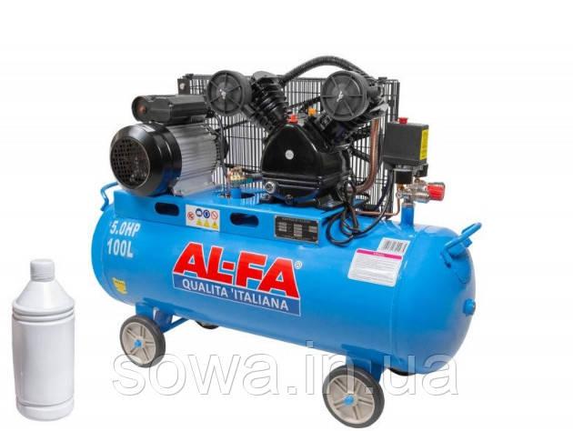 ✔️ Компрессор AL-FA ALC-100-2  _100L  ( 3,8 кВт )