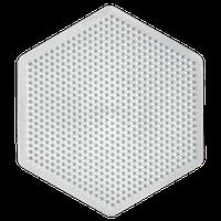 Поле для мозаики HAMA Midi, средний шестиугольник, 469 колышек