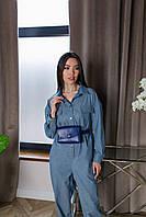 Поясная сумка темно-синего цвета Udler