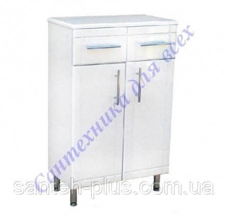 Шкафчик напольный на ножках для ванной комнаты РРТ 2/4-50 см, фото 2