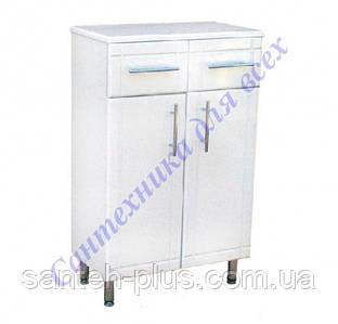 Шкафчик напольный на ножках для ванной комнаты РРТ 2/4-50 см
