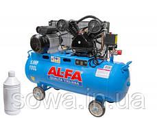 ✔️ Компрессор AL-FA ALC-100-2  / 100L, фото 2
