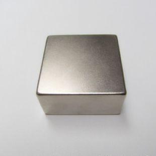 Магнит неодимовый прямоугольный 50х20х20мм, Намагниченность N42