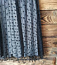 Женская юбка плисе с фатином серая, фото 3