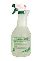 Засіб екстреної дезінфекції Аеродезин 2000, очищення поверхонь, ВМП, інструментів,1 л, фото 1