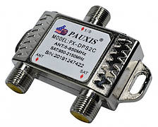 Диплексер SAT/TV PAUXIS PX-DPS2C