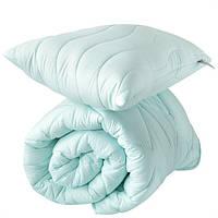 Набор одеяло 200х220 и подушка 50х70 Tropical мята Ideia