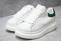 Кроссовки женские 14753, Alexander McQueen Oversized Sneakers, белые, < 37 > р. 37-22,6см.