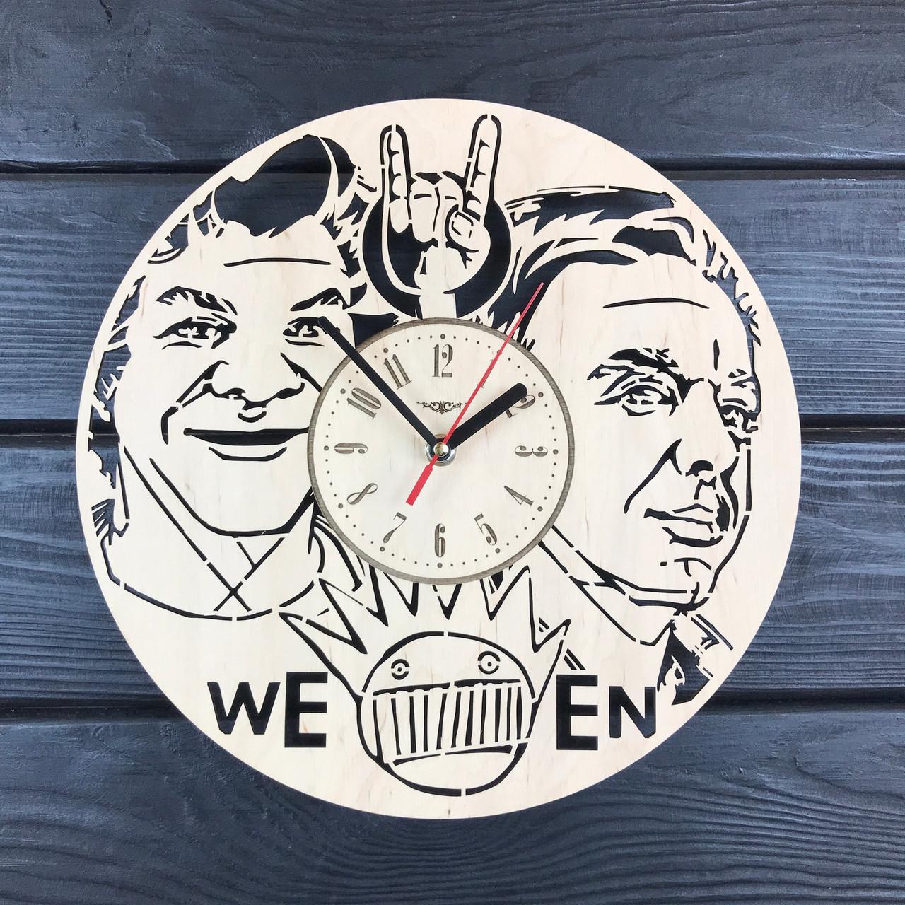 Декоративные деревянные часы на стену «Ween»