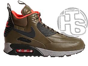 Мужские кроссовки Nike Air Max 90 Sneakerboot Dark Loden/Black 684714-300
