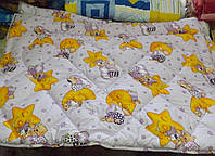 Одеяло силиконовое детское в чехле из бязи