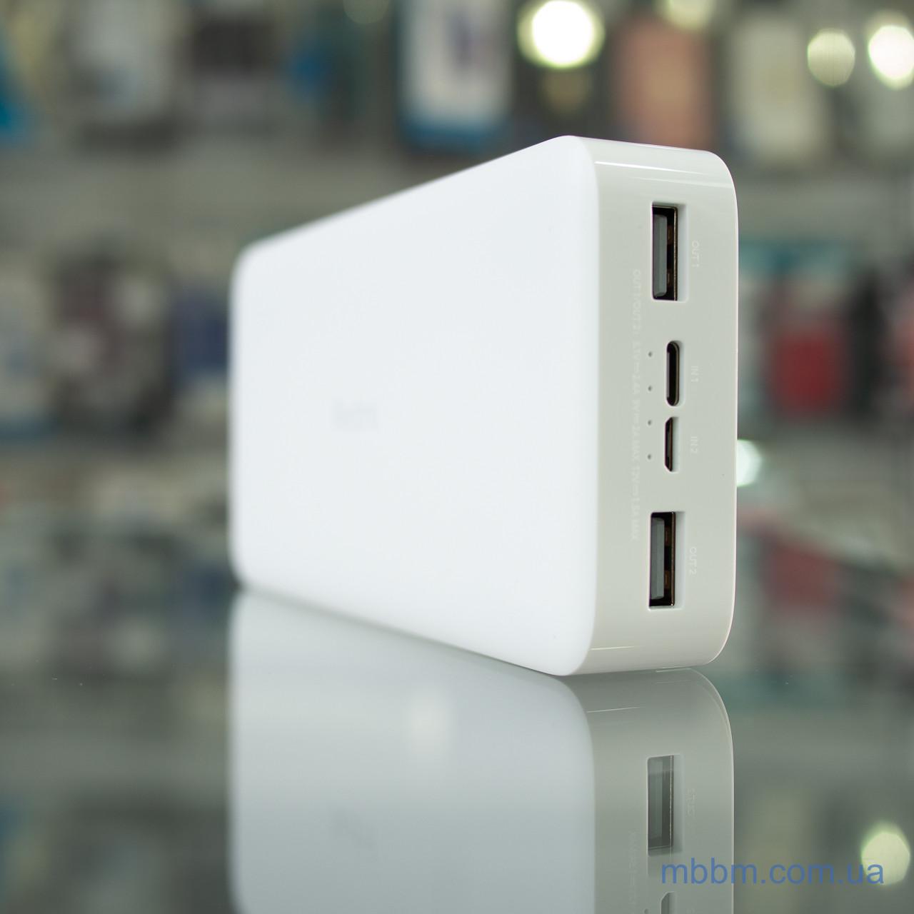 Портативные батареи Xiaomi Redmi 20000mAh White