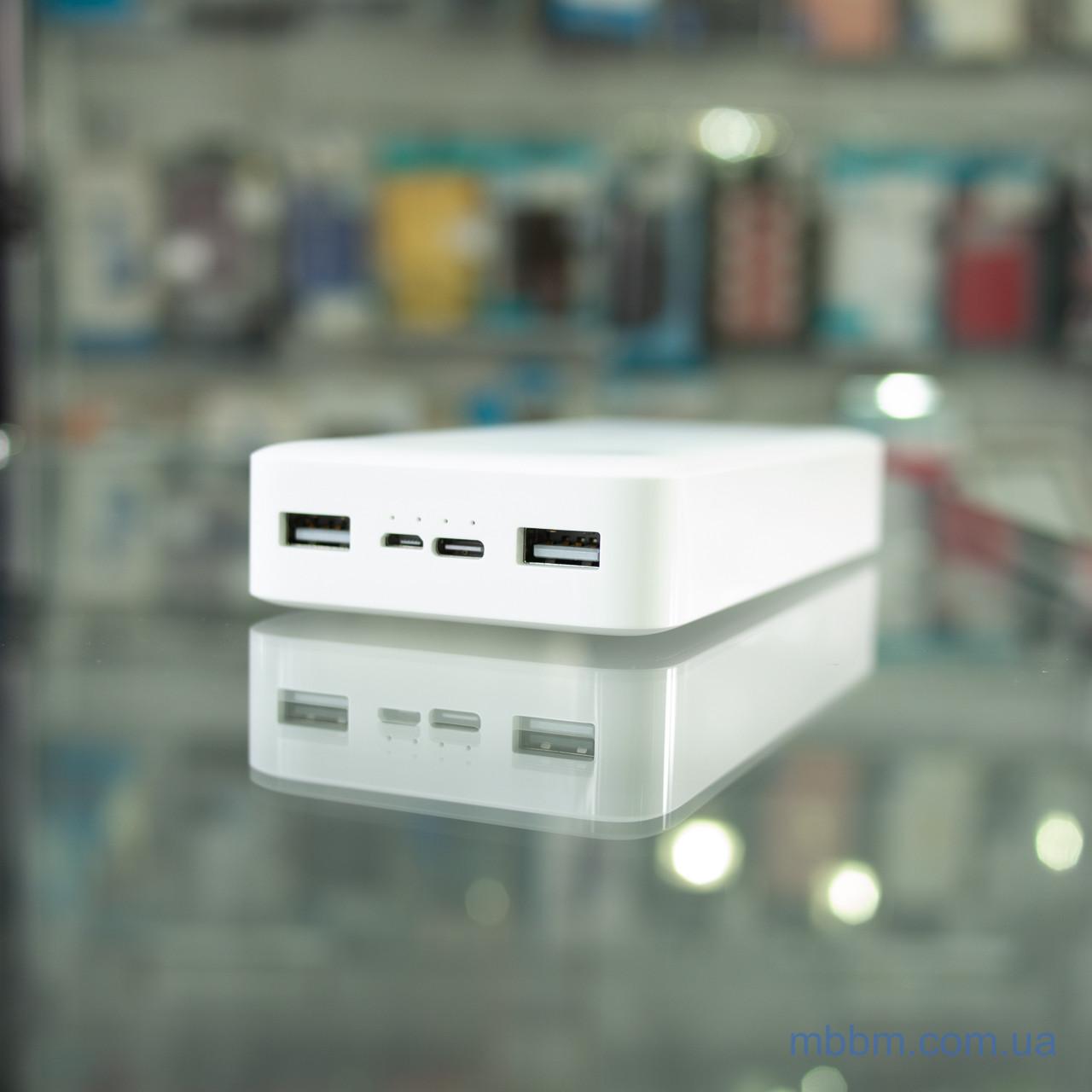 Портативные батареи Xiaomi Redmi 20000mAh White Белый