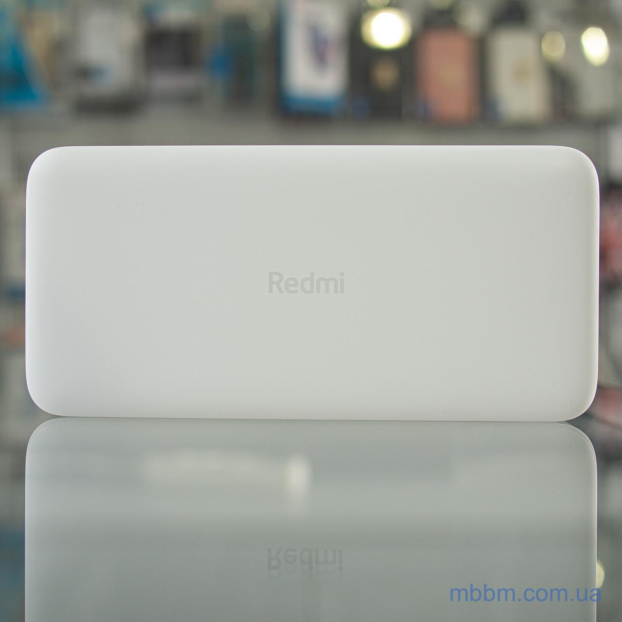 Портативная батарея Xiaomi Redmi 20000mAh White