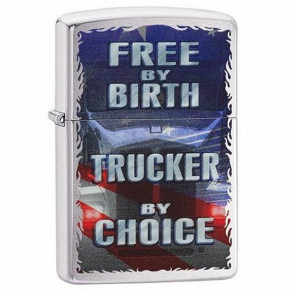 Зажигалка Zippo Free By Birth, 29078