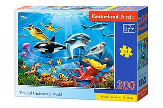 Пазлы Castorland Тропический подводный мир 200 элементов