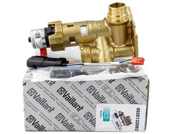 Трехходовой клапан с байпасом 0020132682 Vaillant turboTEC, atmoTEC Pro