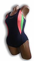 Купальник женский для бассейна. Rivage Line. Синий. 8984