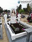 Детский памятник для девочкис книгой и двумя ангелочками, фото 4