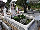 Детский памятник для девочкис книгой и двумя ангелочками, фото 5