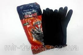 Перчатки Щелочные черные 70 гр