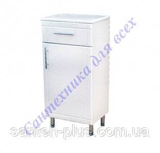 Шкафчик напольный на ножках для ванной комнаты РРТ 2/4-40 см