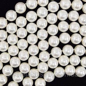 5-6 мм Жемчуг,  Натуральный камень, бусины, Форма: Шар, Длина: 34 см, фото 2