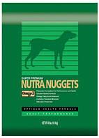 NUTRA NUGGETS Performanсe  15кг корм премиум класса для собак с средней активностью