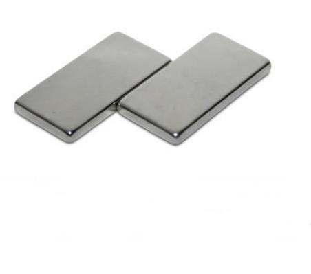Прямоугольный магнит неодимовый 50х12х6 мм, сцепление 11кг, N42