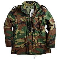 Куртки Alpha Industries M-65 Field Coat woodland
