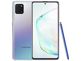 Смартфон Samsung Galaxy Note 10 Lite 6/128Gb Aura Silver (SM-N770FZSDSEK)