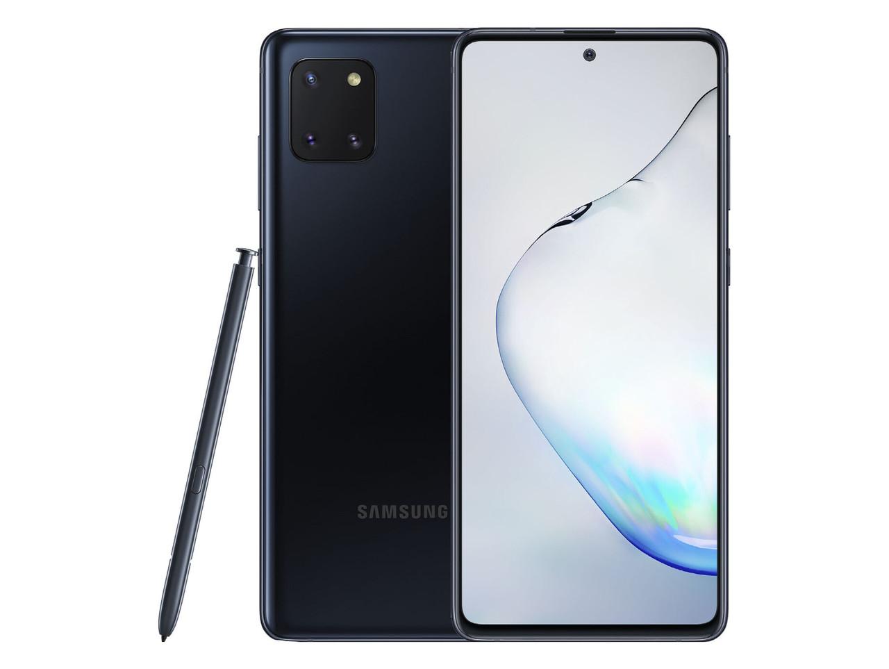 Смартфон Samsung Galaxy Note 10 Lite 6/128GB Black (SM-N770FZKDSEK)