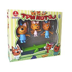 """Игровой набор """"Три кота с качелькой"""" PS660"""